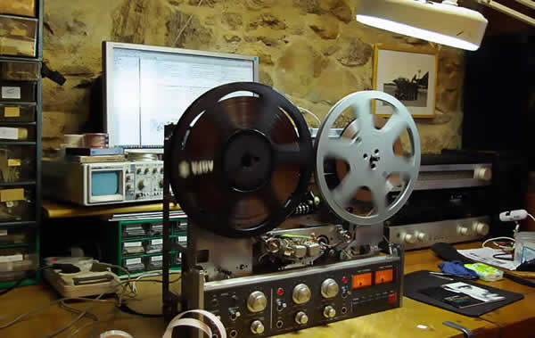 repair reel to reel